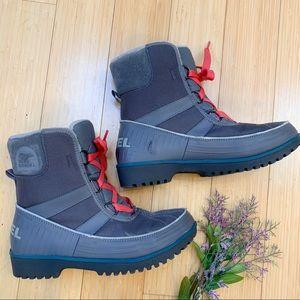 SOREL Tivoli II low mid winter snow boots, 8.5.